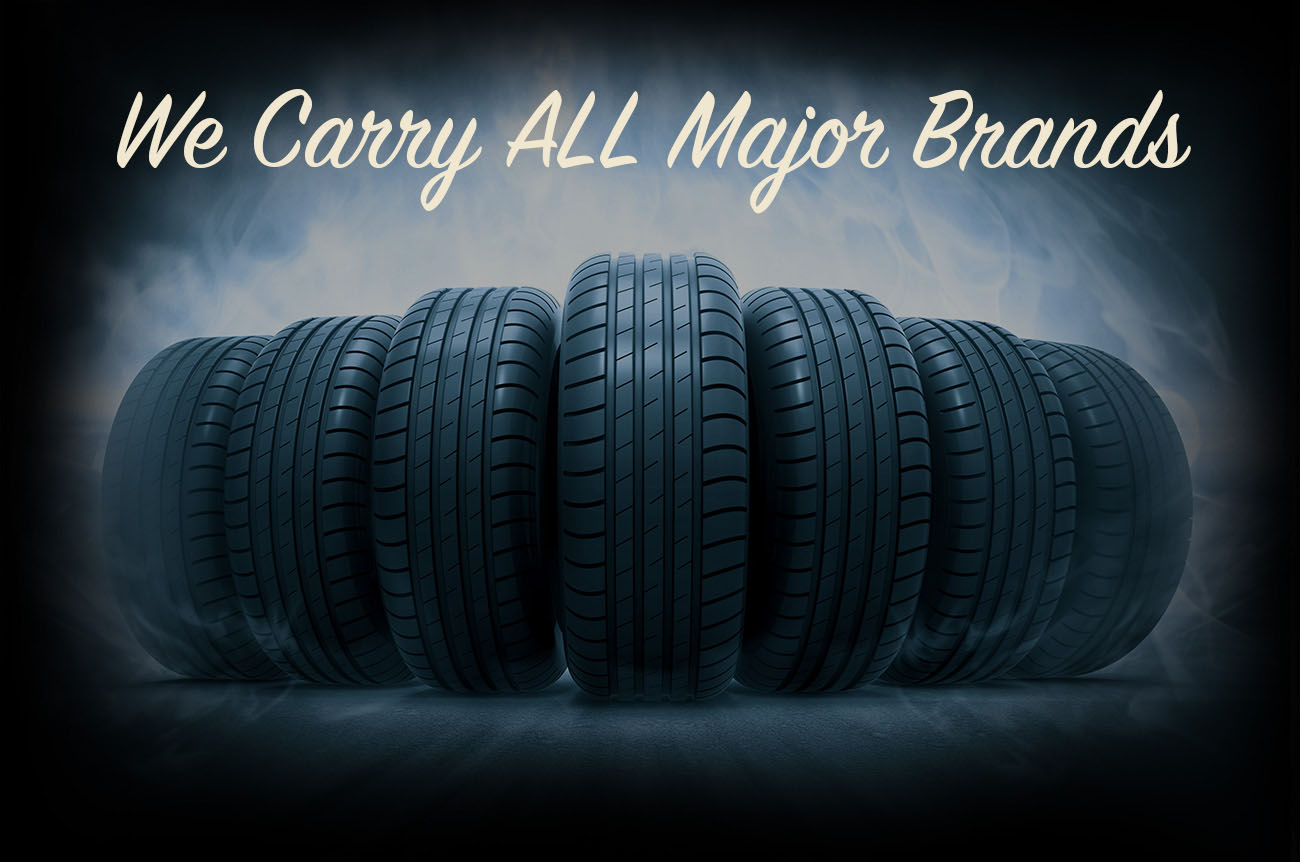 Tire Exchange carries all Major Brands of New and Used Tires and Rims